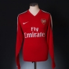 2008-10 Arsenal Home Shirt Nasri #8 L/S M