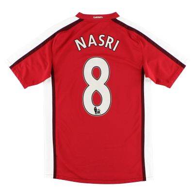 2008-10 Arsenal Home Shirt Nasri #8 S