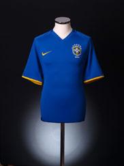 2008-10 Brazil Away Shirt M