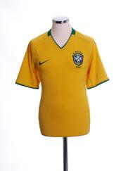 2008-10 Brazil Home Shirt M