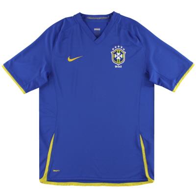 2008-10 Brazil Nike Away Shirt *Mint* S