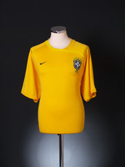 2008-10 Brazil Training Shirt XL