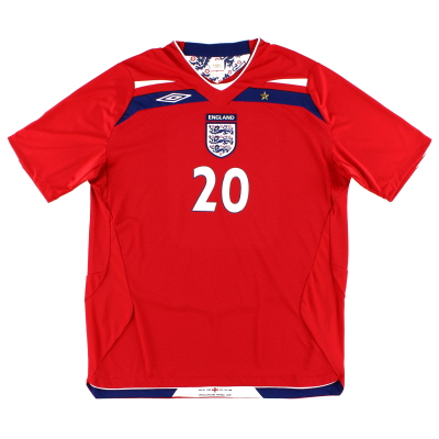 2008-10 England Away Shirt #20 XL