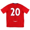 2008-10 England Away Shirt #20 XL