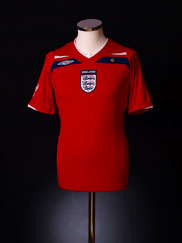 2008-10 England Away Shirt 5XL