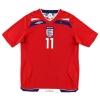 2008-10 England Away Shirt J. Cole #11 L