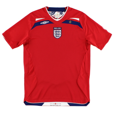 2008-10 England Umbro Away Shirt L