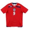 2008-10 England Away Shirt Rooney #9 XXL