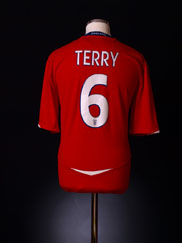 2008-10 England Away Shirt Terry #6 S