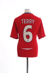 2008-10 England Away Shirt Terry #6 L