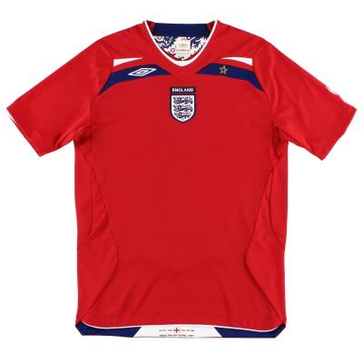 2008-10 England Umbro Away Shirt S