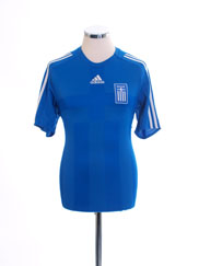 2008-10 Greece Home Shirt *Mint* S