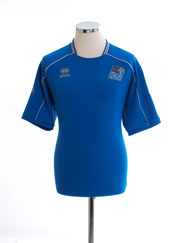 2008-10 Iceland Home Shirt L