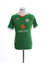 2008-10 Ireland Home Shirt L.Boys