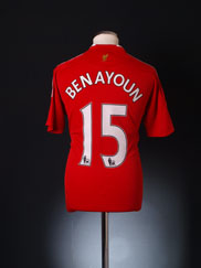 2008-10 Liverpool Home Shirt Benayoun #15 S