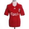 2008-10 Liverpool Home Shirt Gerrard #8 L