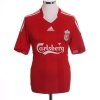 2008-10 Liverpool Home Shirt Gerrard #8 L