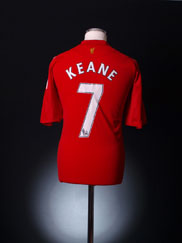 2008-10 Liverpool Home Shirt Keane #7 XL