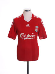 2008-10 Liverpool Home Shirt M