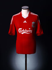 2008-10 Liverpool Home Shirt XL.Boys