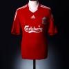 2008-10 Liverpool Home Shirt Torres #9 M.Boys