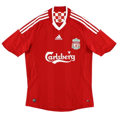2008-10 Liverpool adidas Home Shirt S