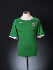 2008-10 Northern Ireland Home Shirt S.Boys