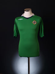 2006-08 Northern Ireland Home Shirt S
