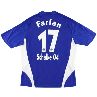 2008-10 Schalke Home Shirt Farfan #17 XL