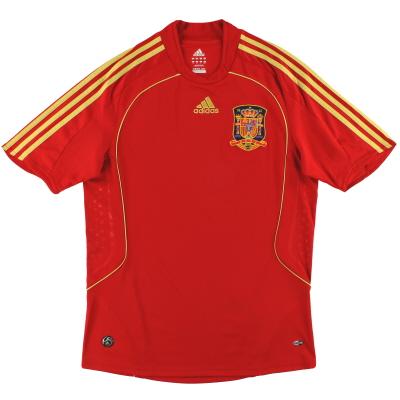 2008-10 Spain adidas Home Shirt M