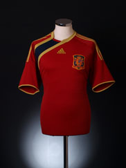 2009 Spain Confederations Cup Home Shirt L