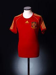 2008-10 Spain Home Shirt M