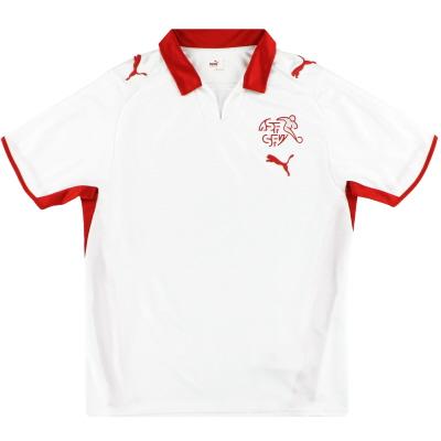 2008-10 Switzerland Puma Away Shirt M