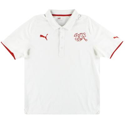 2008-10 Switzerland Puma Polo Shirt L