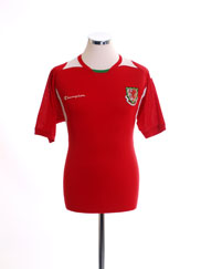 2008-10 Wales Home Shirt M