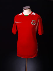 2008-10 Wales Home Shirt XL
