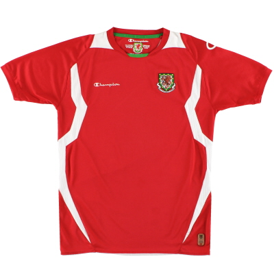 2008-10 Wales Home Shirt S