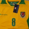 2008-10 Wales Third Shirt #8 *BNWT* M