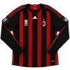 2008 AC Milan Match Issue Shirt Jankulovski #18 L/S (vs. FC Zurich)