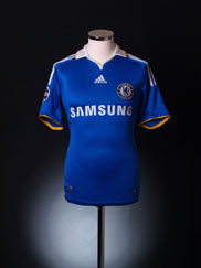 2008 Chelsea 'Carling Cup Final' Home Shirt XXL