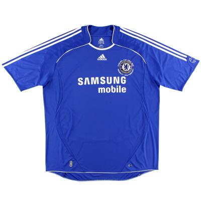 2008 Chelsea 'Carling Cup Final' Home Shirt *Mint* XXXL