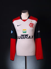 2008 Flamengo Away Shirt L/S L