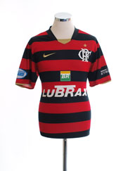 2008 Flamengo Home Shirt #10 M