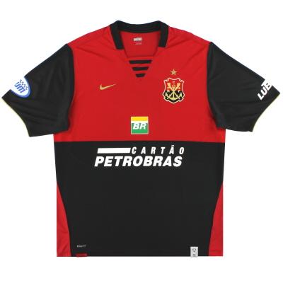 2008 Flamengo Nike Third Shirt #10 L