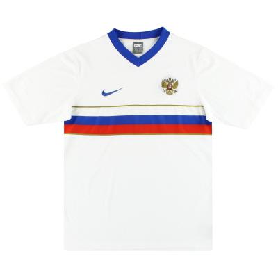 2008 Russia Nike Basic Home Shirt M