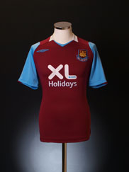 2008 West Ham Home Shirt *Mint* M