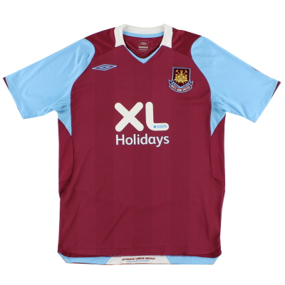 2008 West Ham Home Shirt M