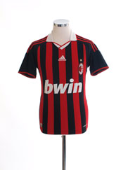 2009-10 AC Milan Home Shirt L