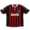 2009-10 AC Milan Match Issue Home Shirt Onyewu #5