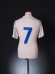 2009-10 Anorthosis Famagusta Home Shirt #7 L